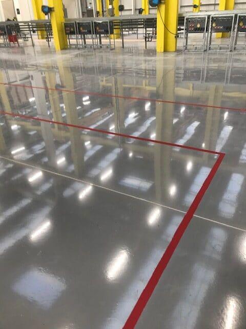 SARTORIUS resin flooring